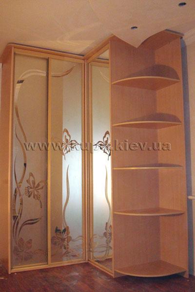 Шкафы-купе угловые в украине, купить, цена, фото угловые шка.