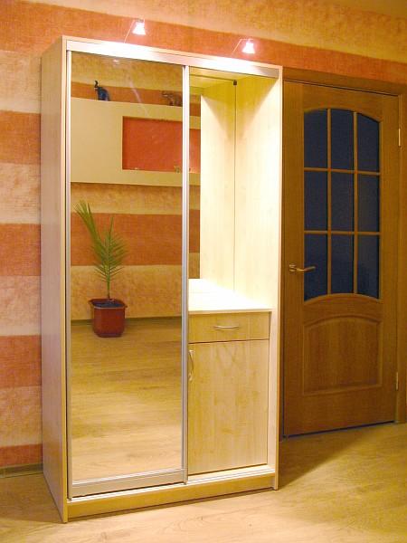Шкаф купе с одной дверью фото своими руками